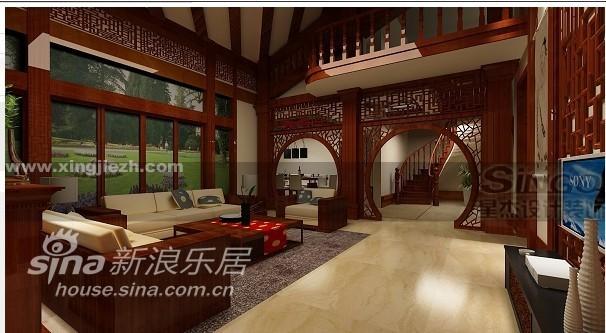 欧式 别墅 客厅图片来自用户2745758987在英式田园26的分享