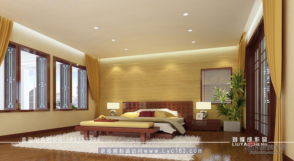 中式 别墅 卧室图片来自用户1907662981在书香府邸71的分享