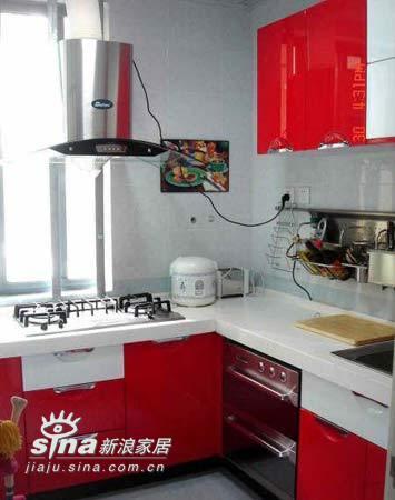 简约 二居 厨房图片来自用户2559456651在4.8万装100平米心魂俱醉满意家53的分享