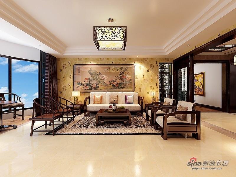 中式 四居 客厅图片来自用户1907661335在曼妙260平中式旭日东升吉祥家72的分享