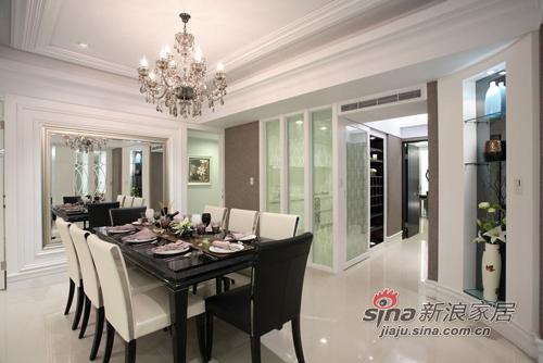 新古典 三居 餐厅图片来自用户1907701233在白色奢华110平 三代同堂共享天伦39的分享