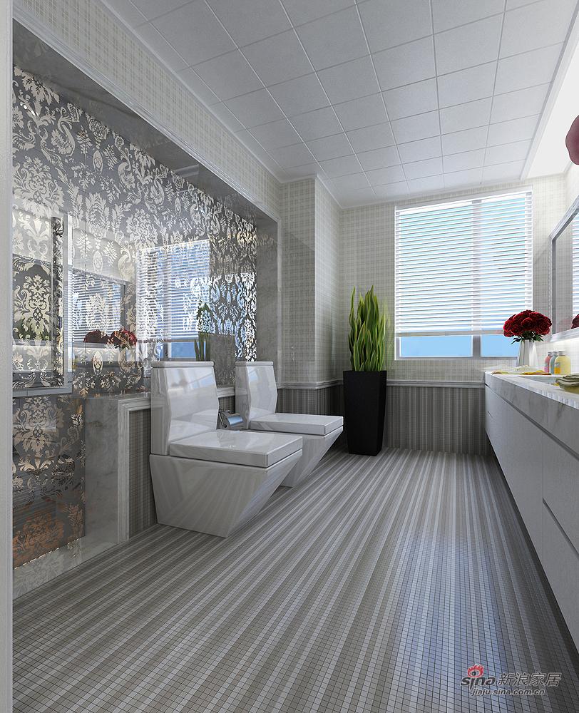 简约 复式 卫生间图片来自用户2738845145在【高清】200平米大连欧式风格五房两厅72的分享