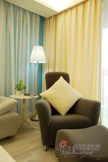 舒适的布艺沙发,个性的造型。