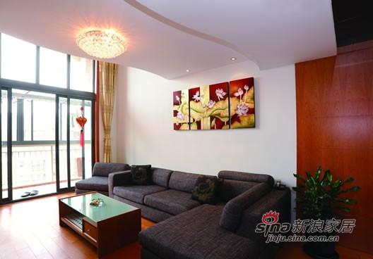 简约 复式 客厅图片来自用户2738813661在22万161平简约唯美77的分享
