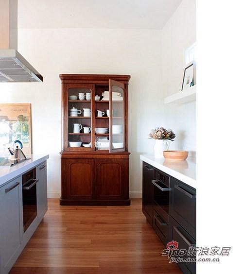 欧式 别墅 厨房图片来自用户2745758987在富二代移民国外晒108开放式精致别墅43的分享