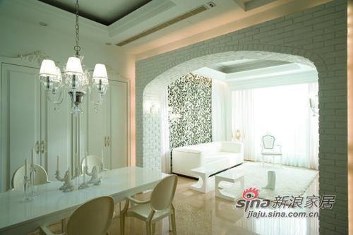 北欧 二居 客厅图片来自用户1903515612在气质白 赏心悦目的空间97的分享