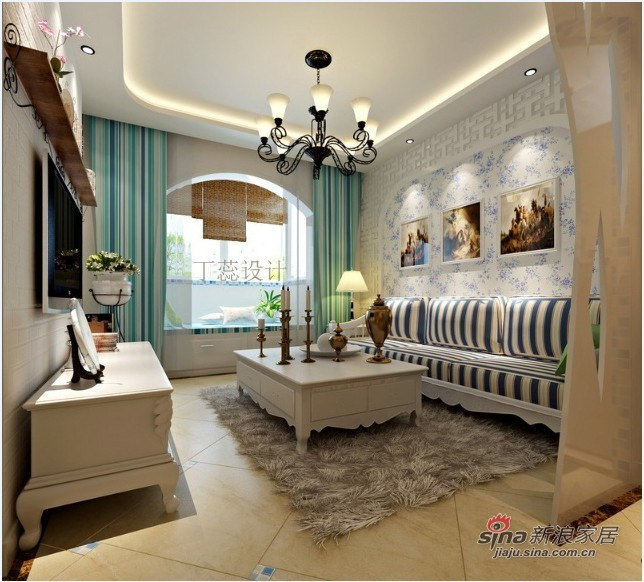 现代 三居 客厅图片来自用户2772355195在14W装饰160平米清新收纳小家族64的分享