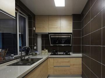 10万装修143平米三居室大气时尚43