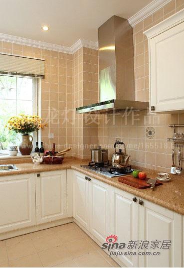 美式 别墅 厨房图片来自用户1907686233在让阳光在家中飞舞450平大别墅87的分享