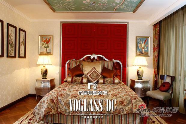 混搭 别墅 卧室图片来自用户1907655435在【多图】300平混搭风格设计完美之家77的分享