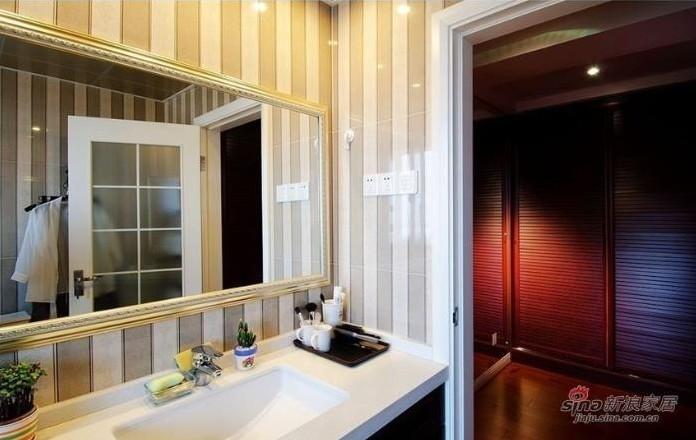 简约 三居 卫生间图片来自用户2737782783在实景9万秀150平方3居室婚房19的分享