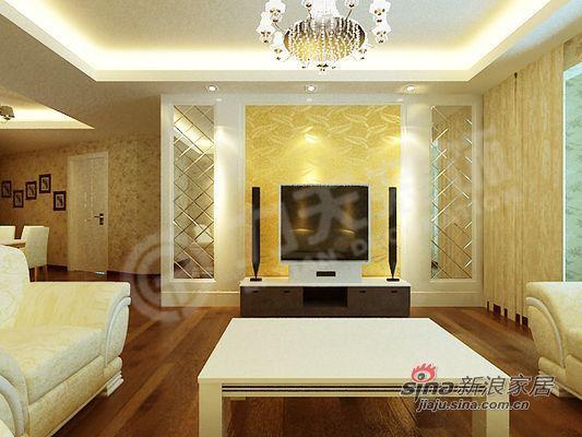 欧式 二居 客厅图片来自阳光力天装饰在品味在不经意中流露--犀地58的分享