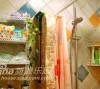 47平米田园风格温馨家98