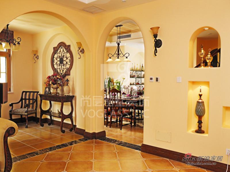 美式 别墅 客厅图片来自用户1907686233在城南逸家美式乡村风格12的分享