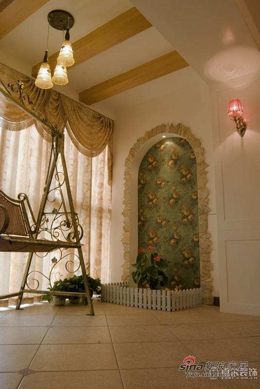 新房装饰设计浪漫阳台