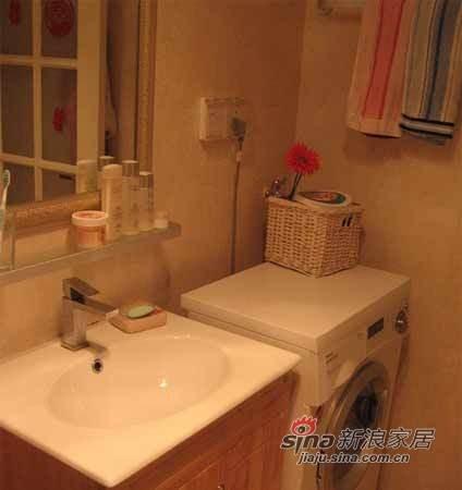 浴室柜+洗衣机