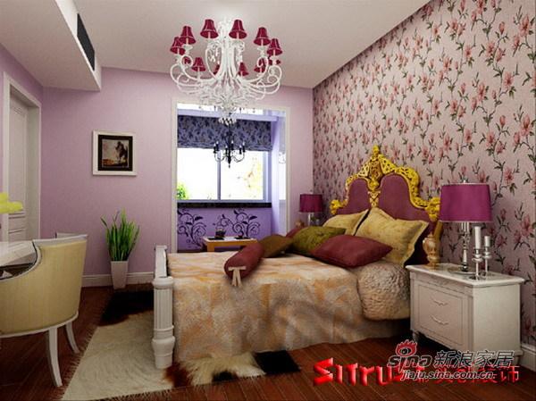 简约 四居 卧室图片来自用户2737759857在顺义新港家园欧式爱家13的分享