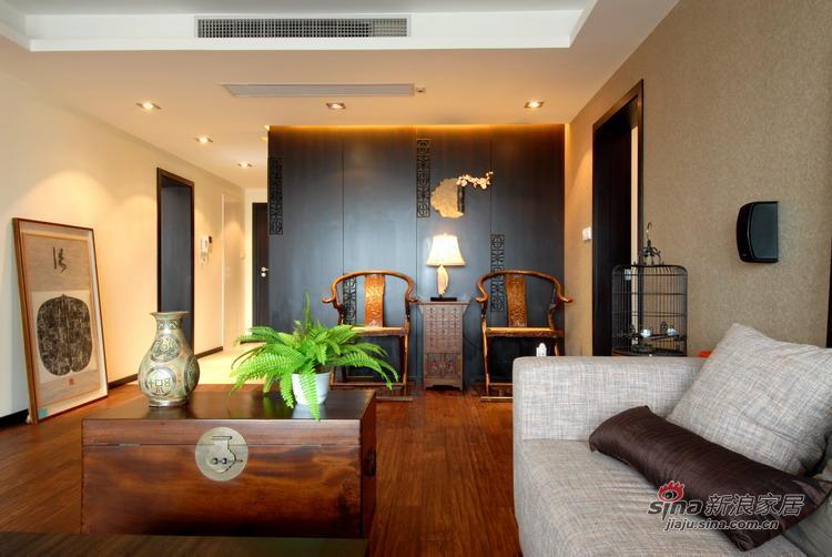 中式 二居 客厅图片来自用户1907661335在萧氏中式家装设计71的分享