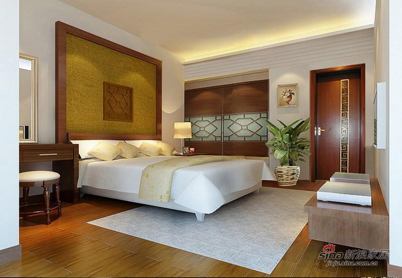 简约 一居 卧室图片来自用户2739081033在简中式三居84的分享