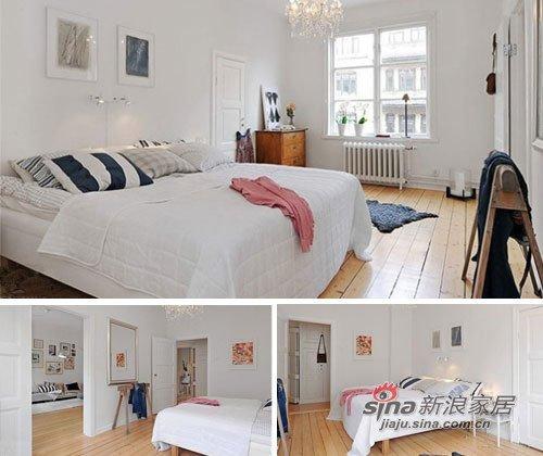 简约 三居 卧室图片来自用户2738829145在11万打造70平韩式田园小屋55的分享