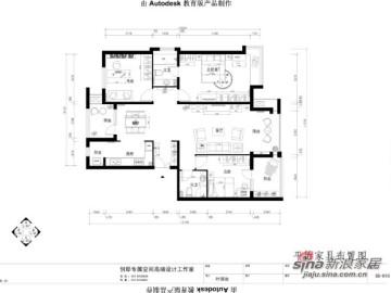 高贵不失典雅之家-158平欧式现代装修案例52