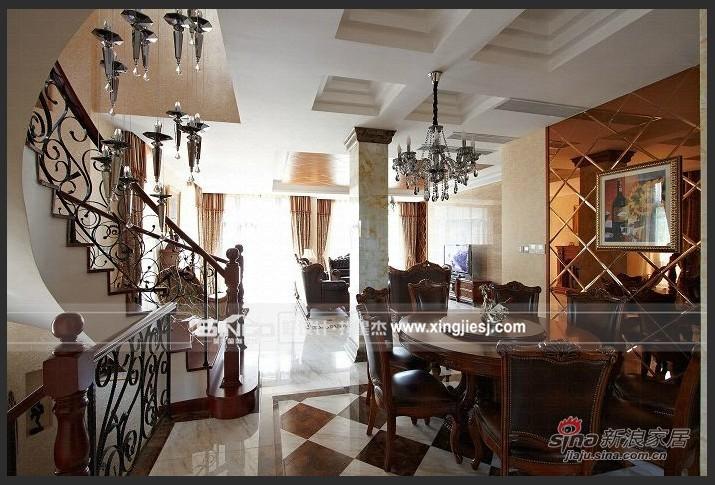 欧式 别墅 餐厅图片来自用户2772856065在简欧混搭风29的分享