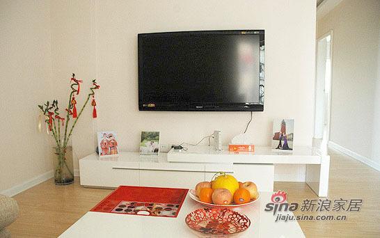其他 一居 客厅图片来自用户2558757937在20平客厅小户型背景墙17的分享