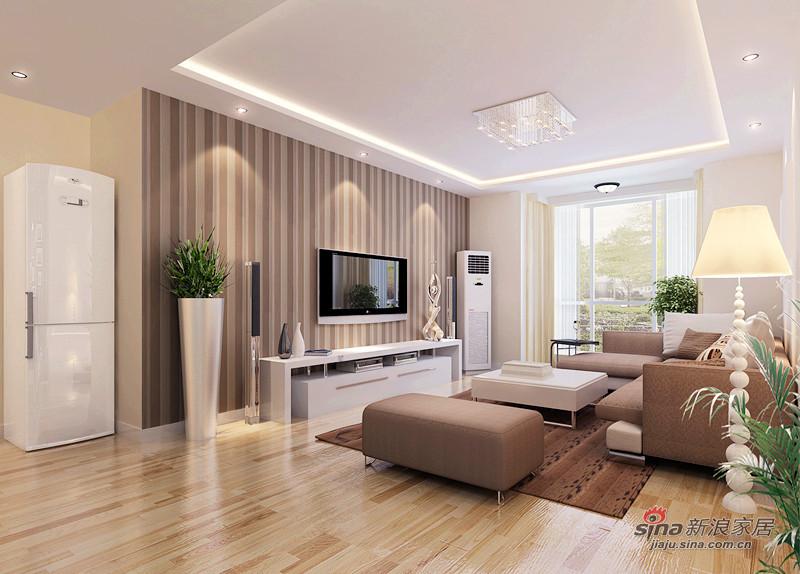 欧式 复式 客厅图片来自用户2746869241在工薪阶层5.5万装修80平简约素色雅居50的分享