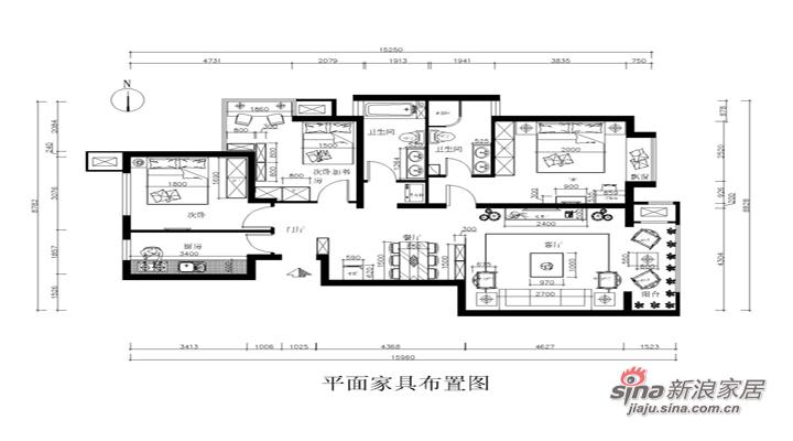 中式 三居 其他图片来自用户1907658205在12万装修新古典中式130平北京风景三居案例22的分享