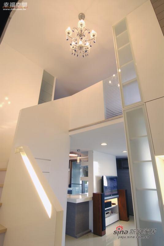 简约 复式 客厅图片来自幸福空间在积极规划60平米舒宜居复式家84的分享
