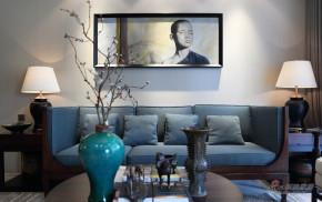 现代 三居 客厅 文艺青年图片来自装修微日记在【高清】125平新禅意现代简约空间75的分享
