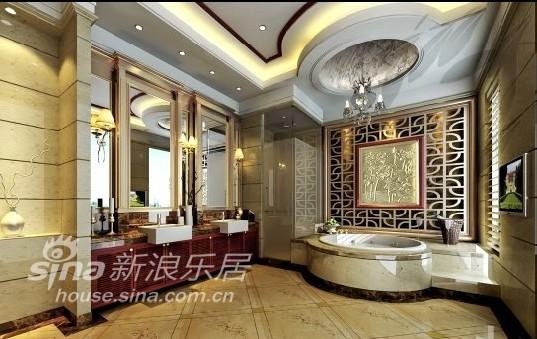 中式 别墅 卫生间图片来自用户2740483635在御翠园43的分享