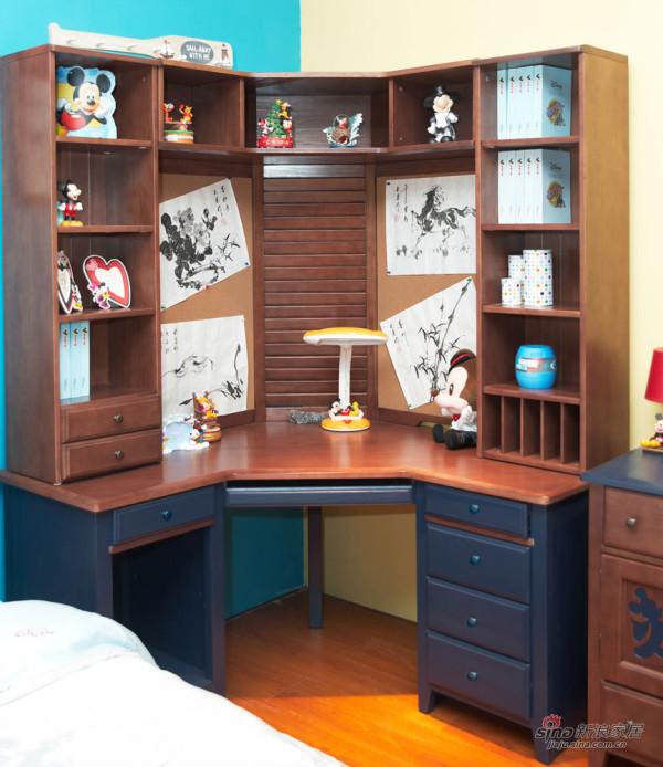 儿童房-松木家具1