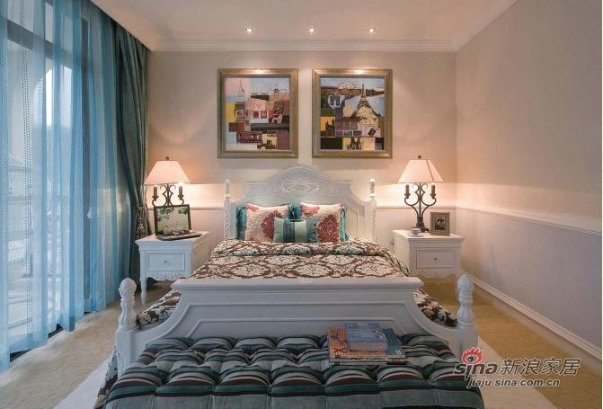 北欧 跃层 卧室图片来自用户1903515612在173平北欧风格呈现不一样的新家18的分享