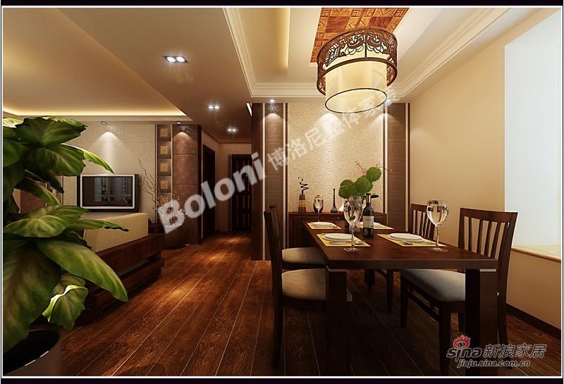 中式 三居 餐厅图片来自用户1907659705在5万打造御景城新中式风格家装37的分享