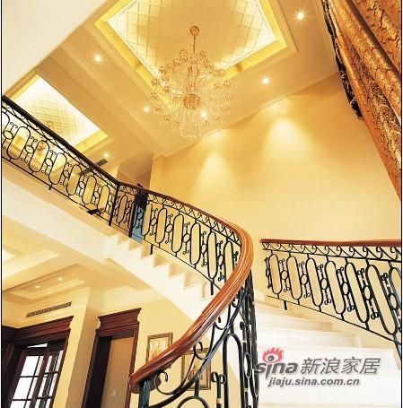 欧式 别墅 楼梯图片来自用户2772856065在夫妻300平欧式古典奢华家56的分享