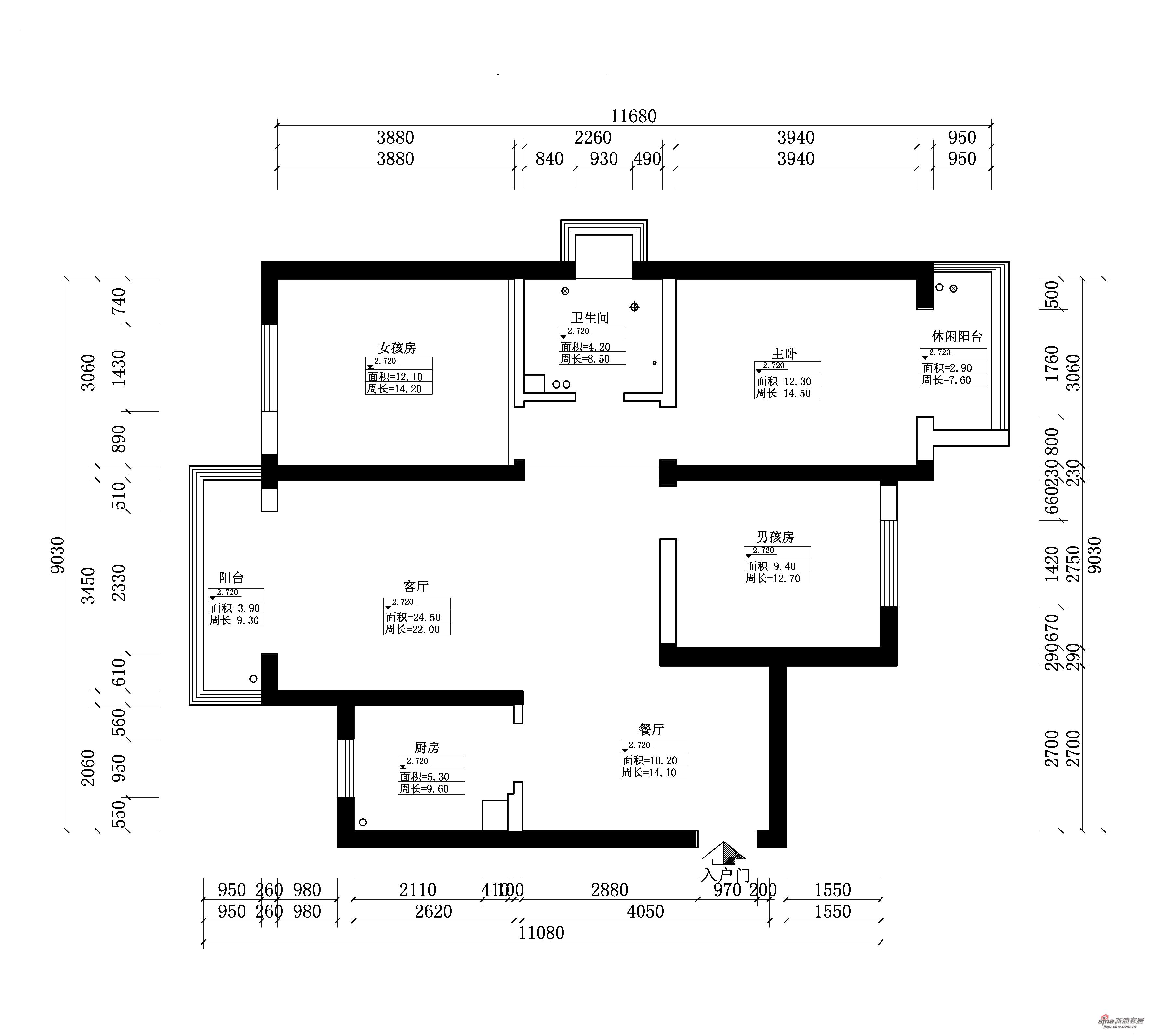 中式 三居 其他图片来自用户1907661335在118平三居室新中式19的分享
