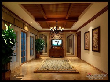 300平古典主义美式别墅设计19
