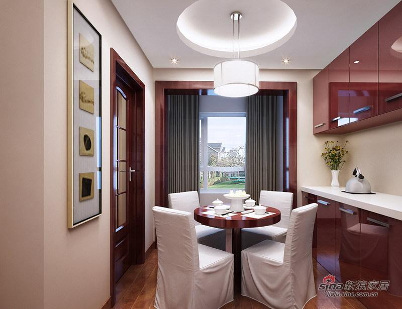 中式 三居 餐厅图片来自用户1907659705在超值的11万装扮长信春天140平26的分享