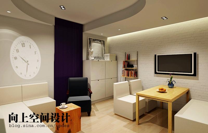 简约 二居 客厅图片来自用户2738820801在旧房改造纯色美家19的分享