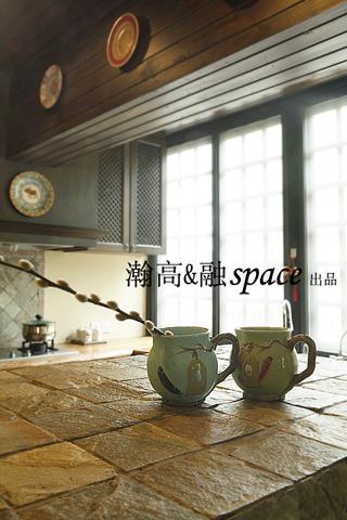 地中海 别墅 厨房图片来自用户2756243717在贝儿的城堡22的分享