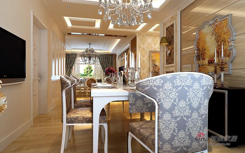 欧式 三居 餐厅图片来自用户2746889121在用房子纪念爱情  新婚夫妻8万装出华丽感56的分享