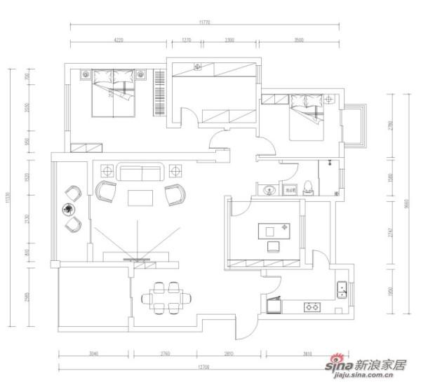 平米户型图
