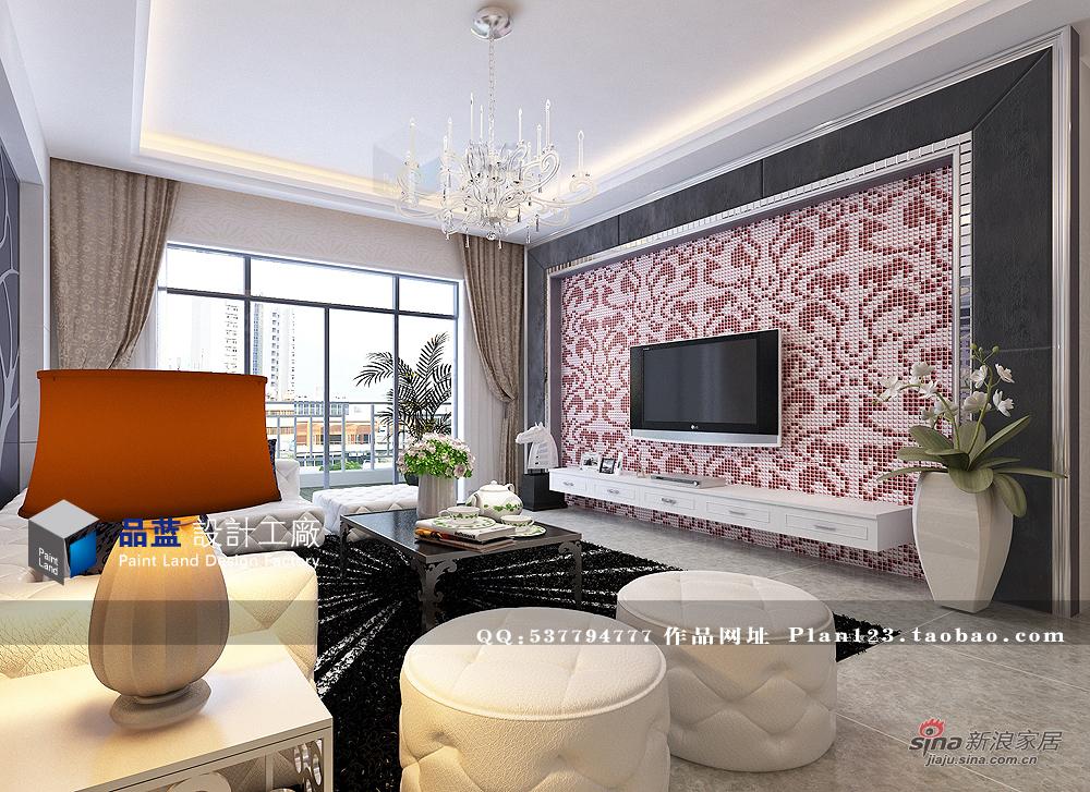 欧式 三居 客厅图片来自用户2757317061在《时尚女王》--132平米样板房36的分享