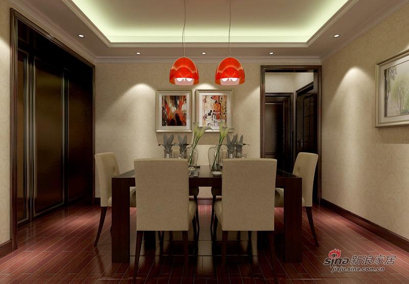简约 三居 餐厅图片来自用户2738829145在15万装修华贸城126平米三居93的分享