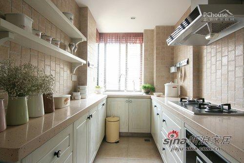 中式 三居 厨房图片来自用户1907658205在7万装123平中式淡雅新婚居72的分享