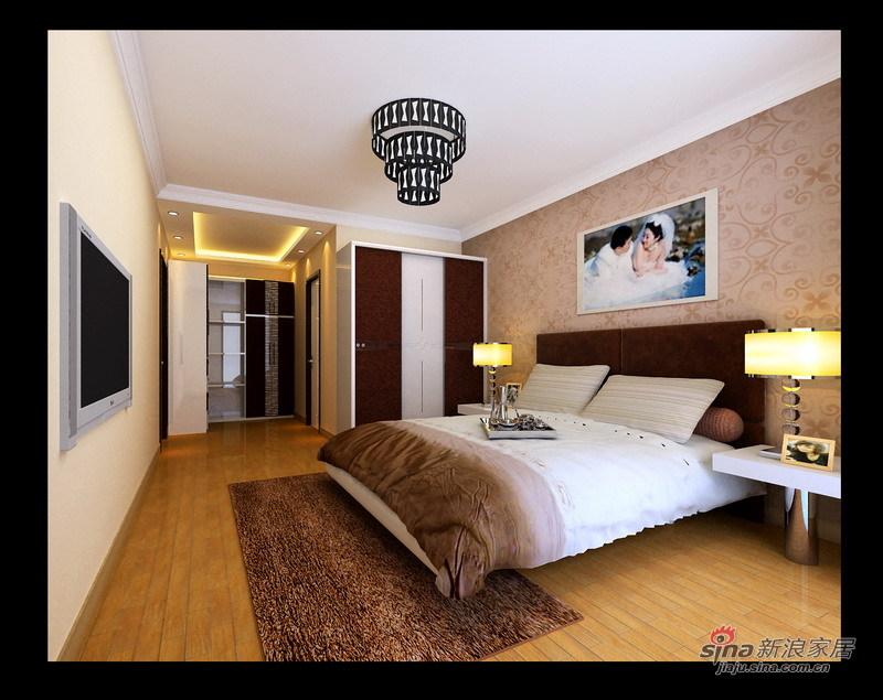 简约 三居 卧室图片来自用户2737782783在身订置百草园123平米时尚简约风73的分享