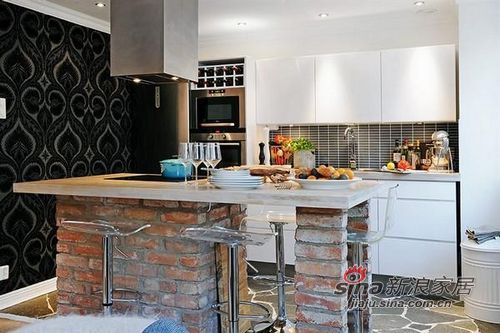 简约 一居 厨房图片来自用户2737735823在5万装42平单身公寓华丽效果93的分享