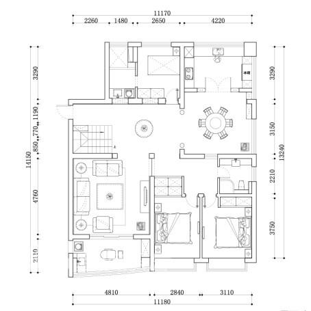 其他 别墅 客厅图片来自用户2771736967在苏州龙发装饰典藏别墅案例一14的分享