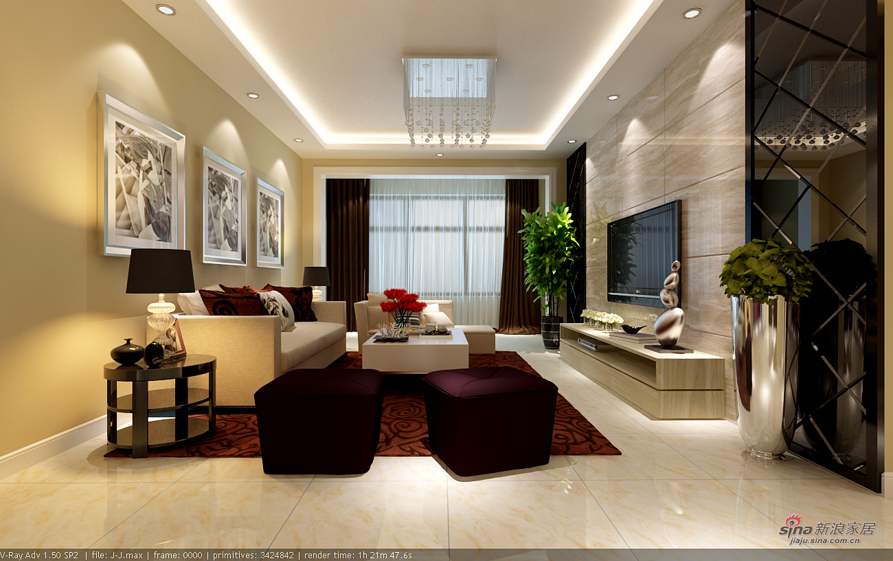简约 二居 客厅图片来自用户2738093703在我的专辑384993的分享